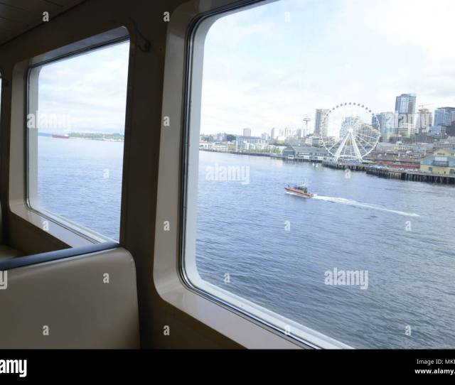 A  Foot Response Boat Small Ii Crew From Coast Guard Station Seattle Escort The Washington State Ferry Puyallup As The Ferry Crew Transited To