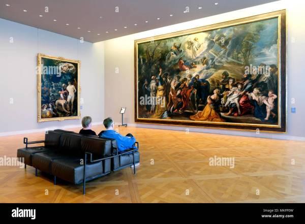 Rubens Painting Stock &