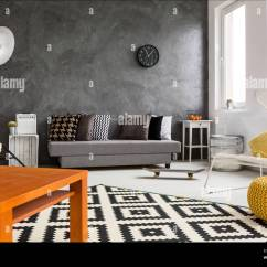 Grey White Orange Living Room Paint For 2017 And With Decorations Making Cozy Bright