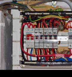 fusebox open stock photo 184693442 alamy rh alamy com open fuse box vauxhall astra open fuse [ 1300 x 956 Pixel ]