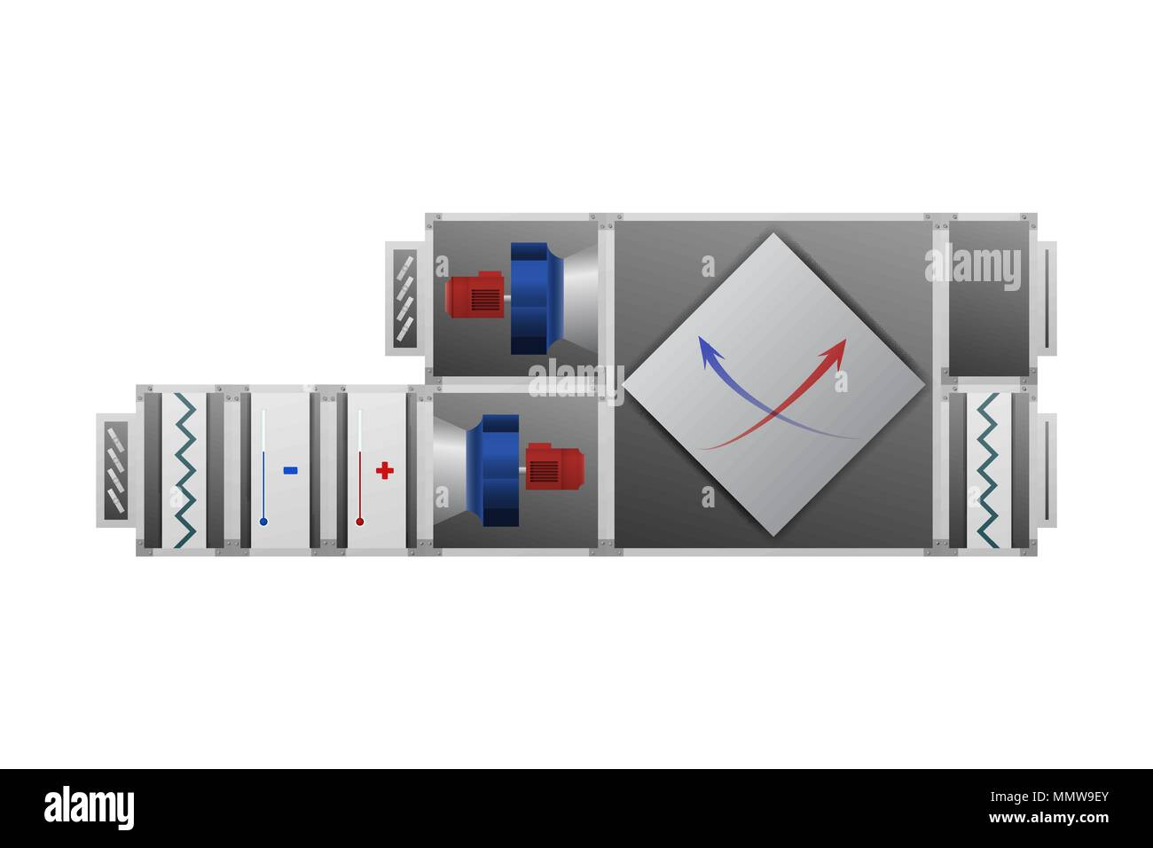 hight resolution of air handling unit hvac industry