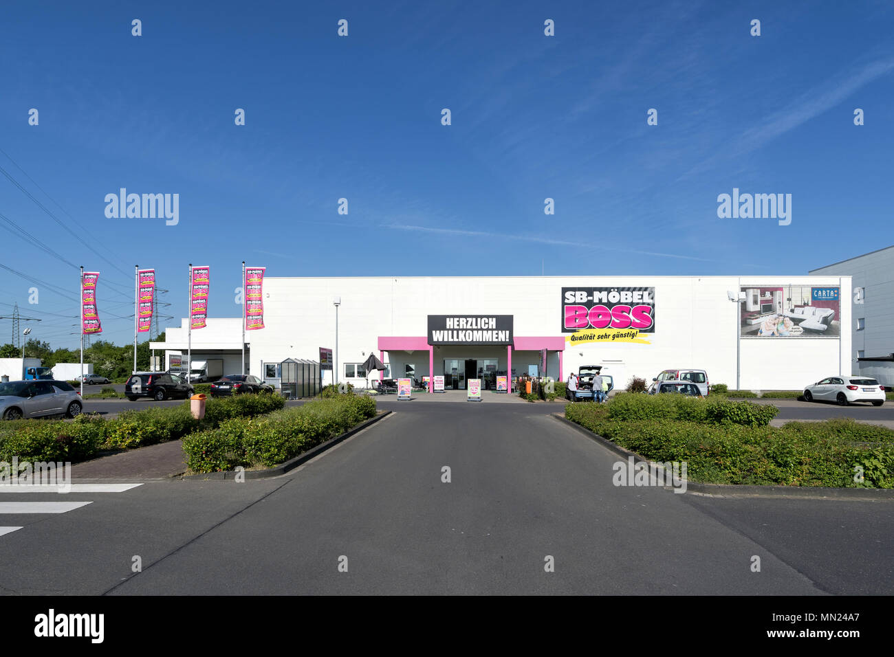 sb mobel boss furniture store in cologne germany mobel boss is a brand