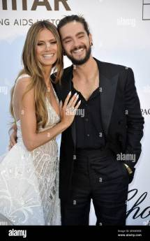 Heidi Klum And Tom Kaulitz Of Tokio Hotel Attending