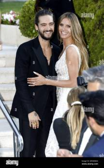 Tom Kaulitz Of Tokio Hotel And Heidi Klum Attending