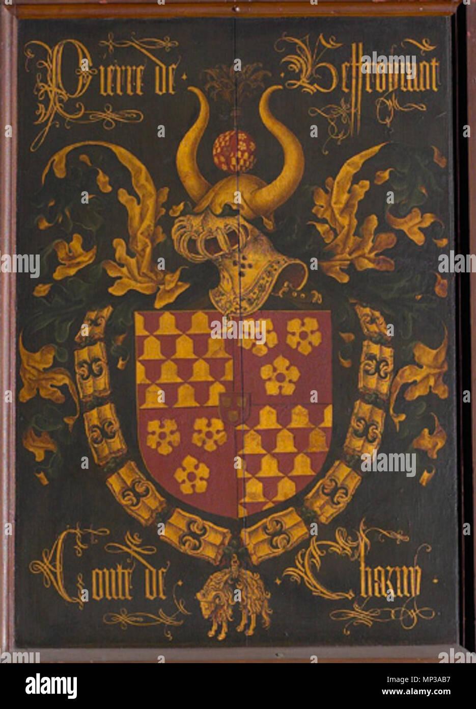 Chevalier De La Toison D'or : chevalier, toison, Français, Blason, Pierre, Bauffremont,, Qualité, Chevalier, Toison, D'or.