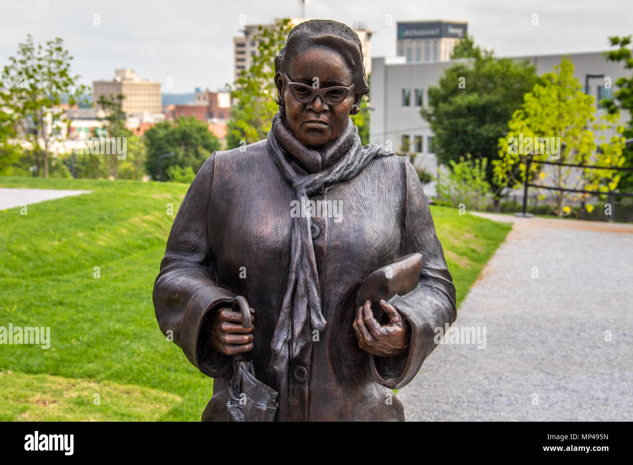 hight resolution of rosa parks sculpture the national memorial for peace and justice or national lynching memorial