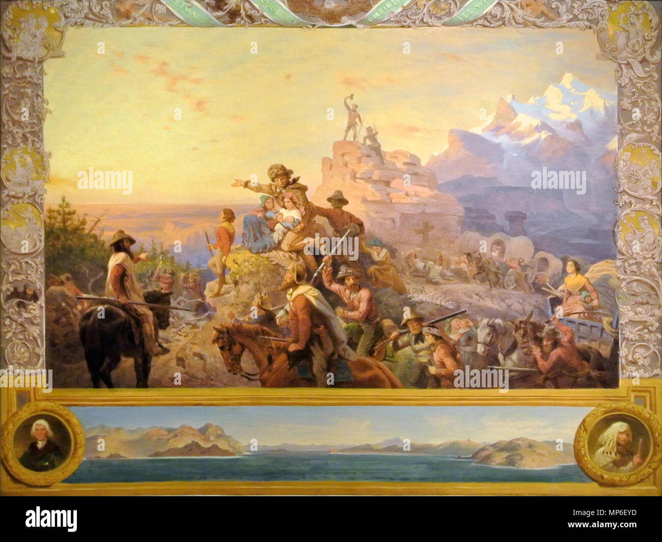 Westward The Course Of Empire Takes Its Way Preliminary