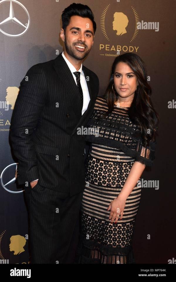 York Usa. 19th 2018. Hasan Minhaj And Beena Patel 77th Peabody Awards