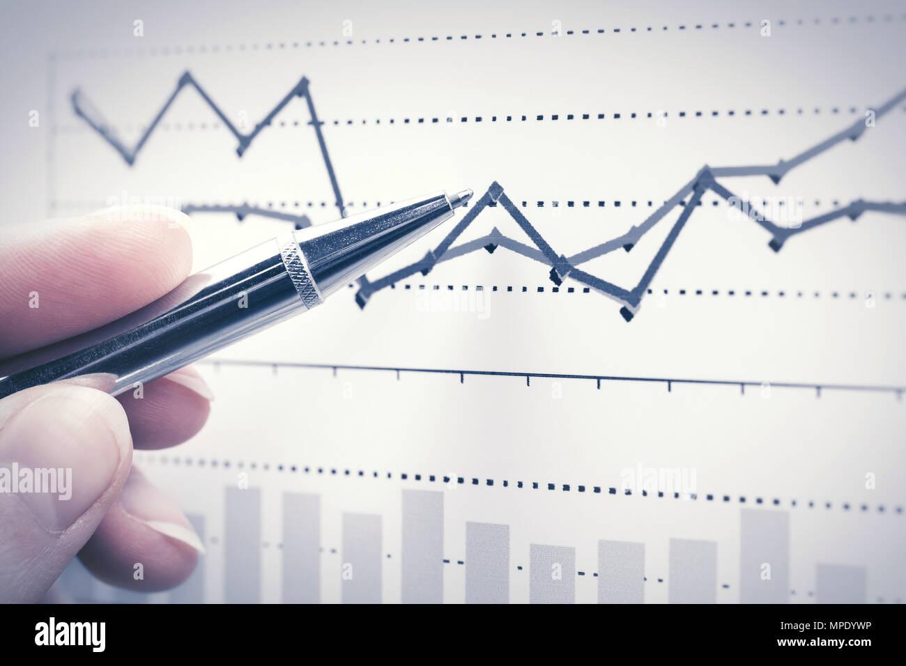 financial graphs analysis stock