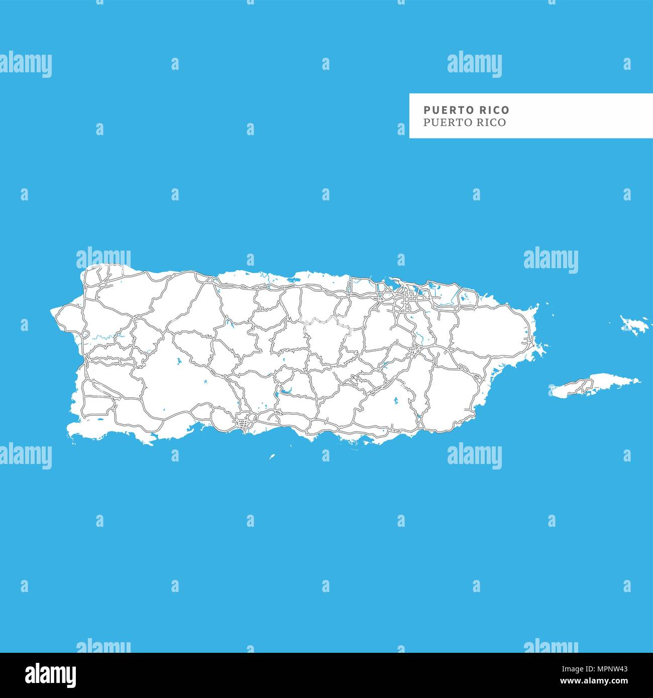 Map Of Puerto Rico Island Puerto Rico Contains Geography