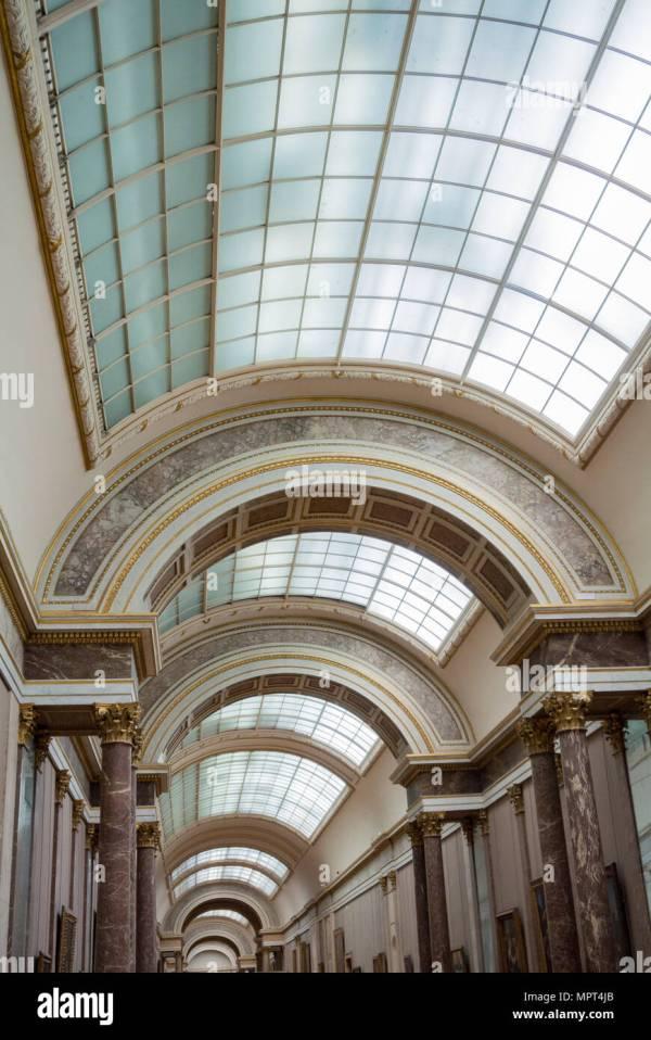 Louvre Windows Stock &