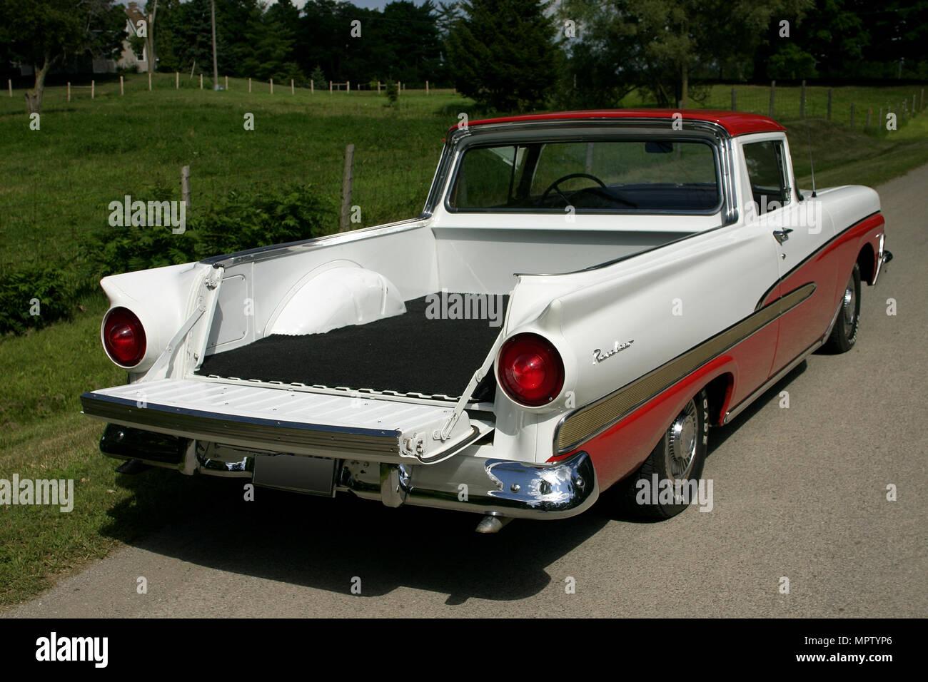 hight resolution of 1958 ford ranchero custom 300 stock image