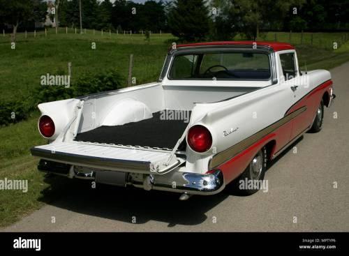 small resolution of 1958 ford ranchero custom 300 stock image