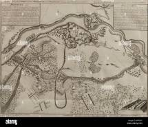 Map Of Battle Stock &