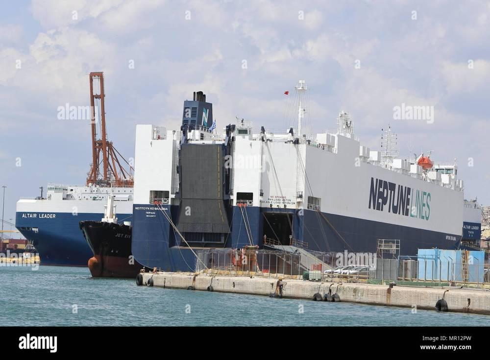 medium resolution of piraeus port 25th may 2018 photo taken on may 25 2018 shows