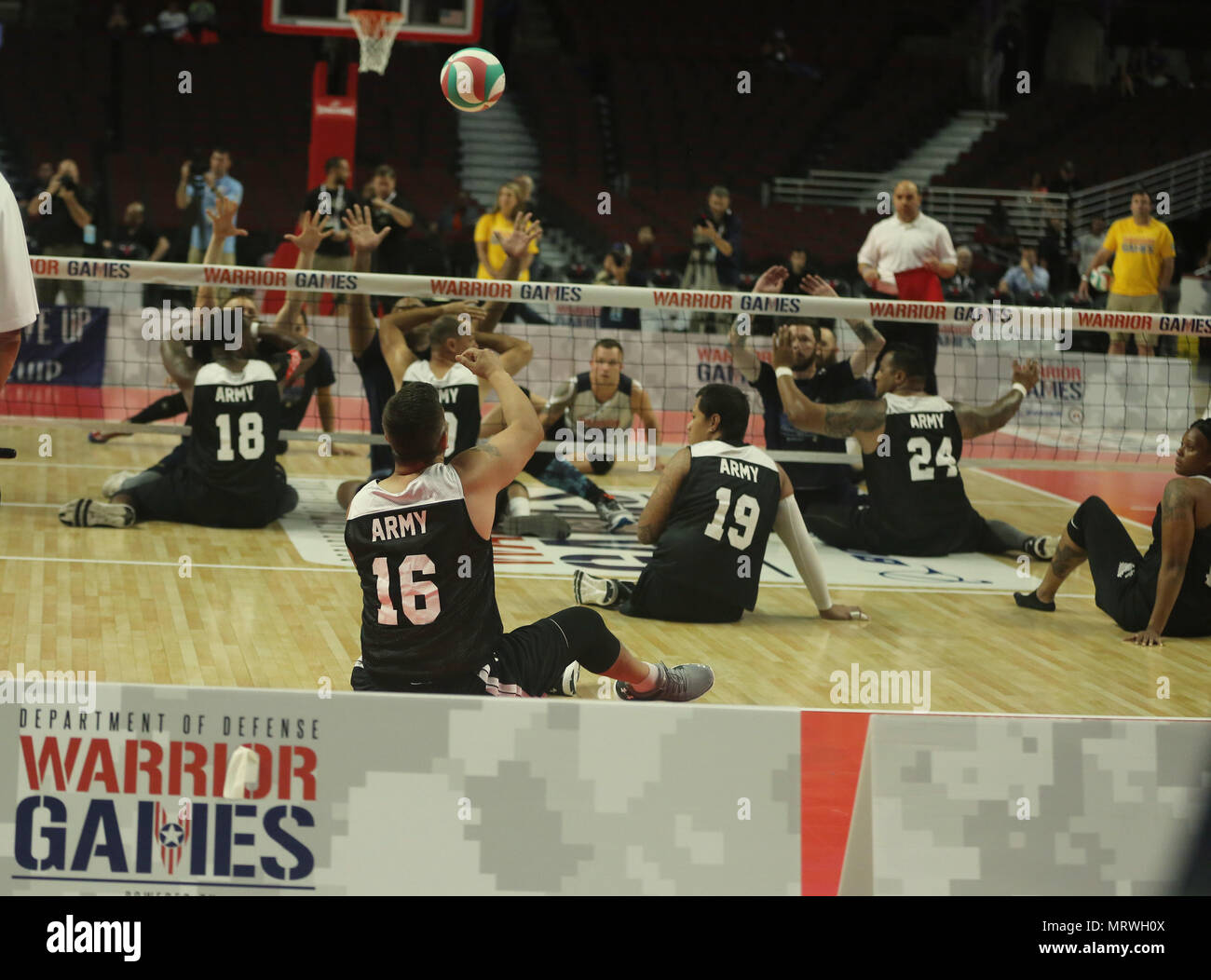wheelchair volleyball cheap racing chair u s army sitting team play against the navy during 2017 department of defense warrior games at chicago ill