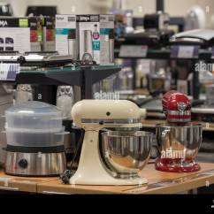 Kitchen Gadgets Store John Boos Island Appliances Electrical Stock Photos And