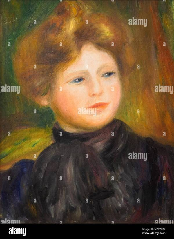 Pierre Auguste Renoir 1841 1919 Stock & - Alamy