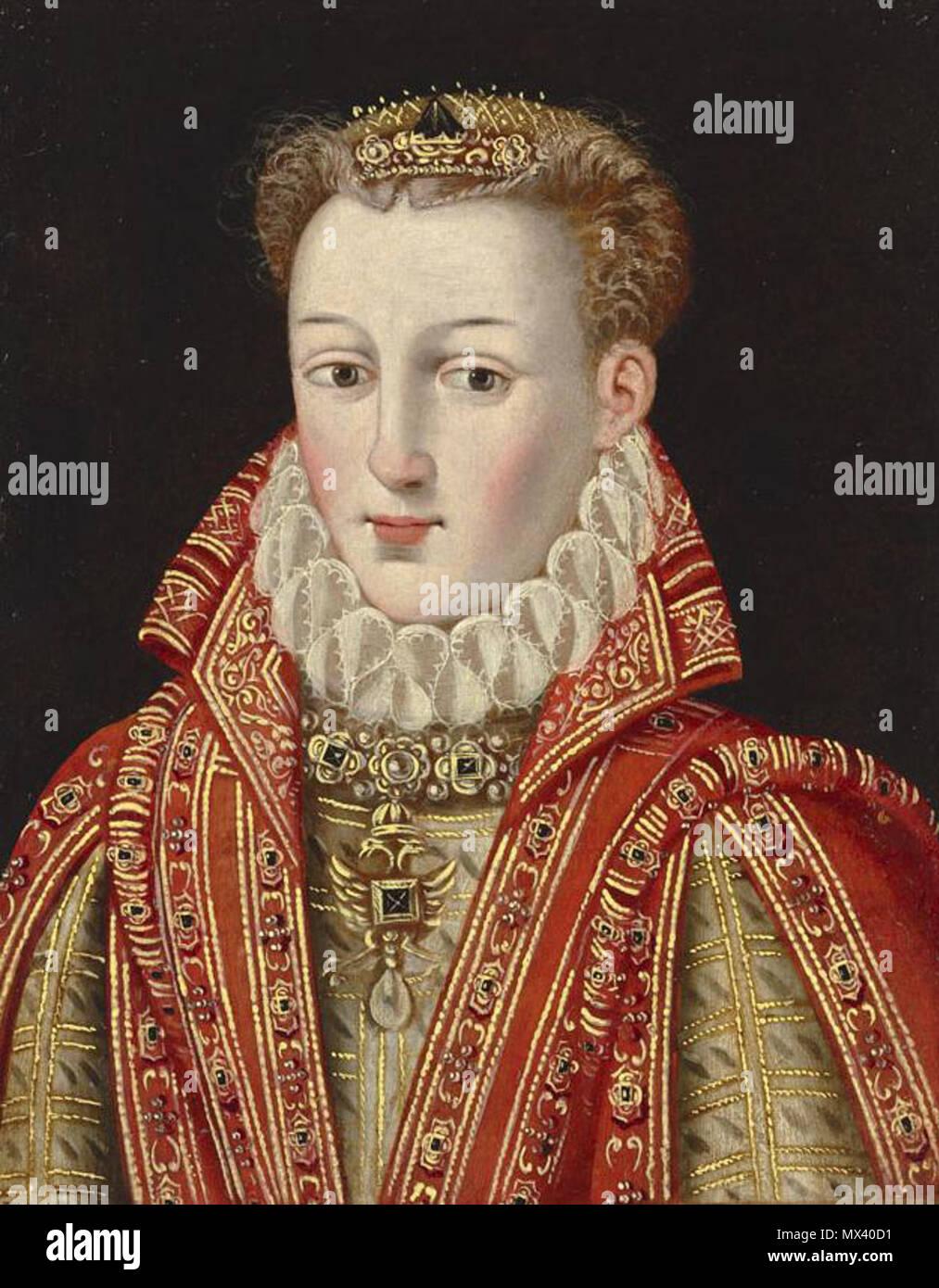 Anne D'autriche (1549-1580) : d'autriche, (1549-1580), Queen, Austria, Resolution, Stock, Photography, Images, Alamy