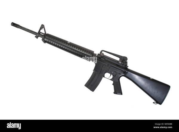 M16a2 Stock & - Alamy