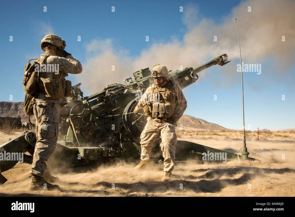 medium resolution of marines with battery k 3rd battalion 11th marine regiment fire an m777a2 howitzer