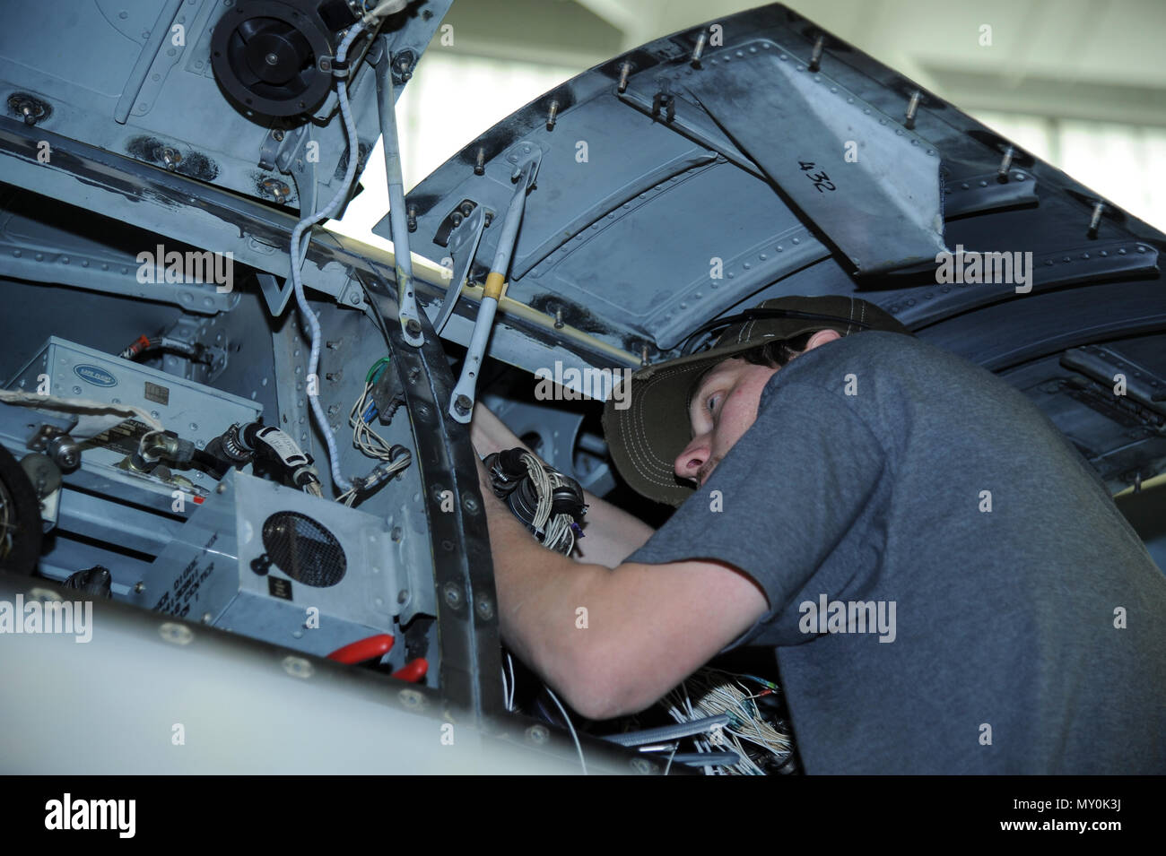 hight resolution of aaron miller 309th aircraft maintenance and regeneration group aircraft technician installs a wiring harness