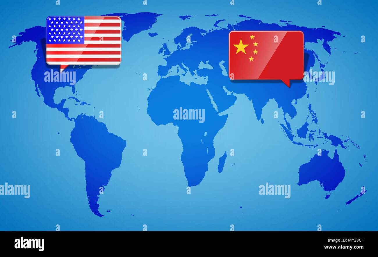usa and china at