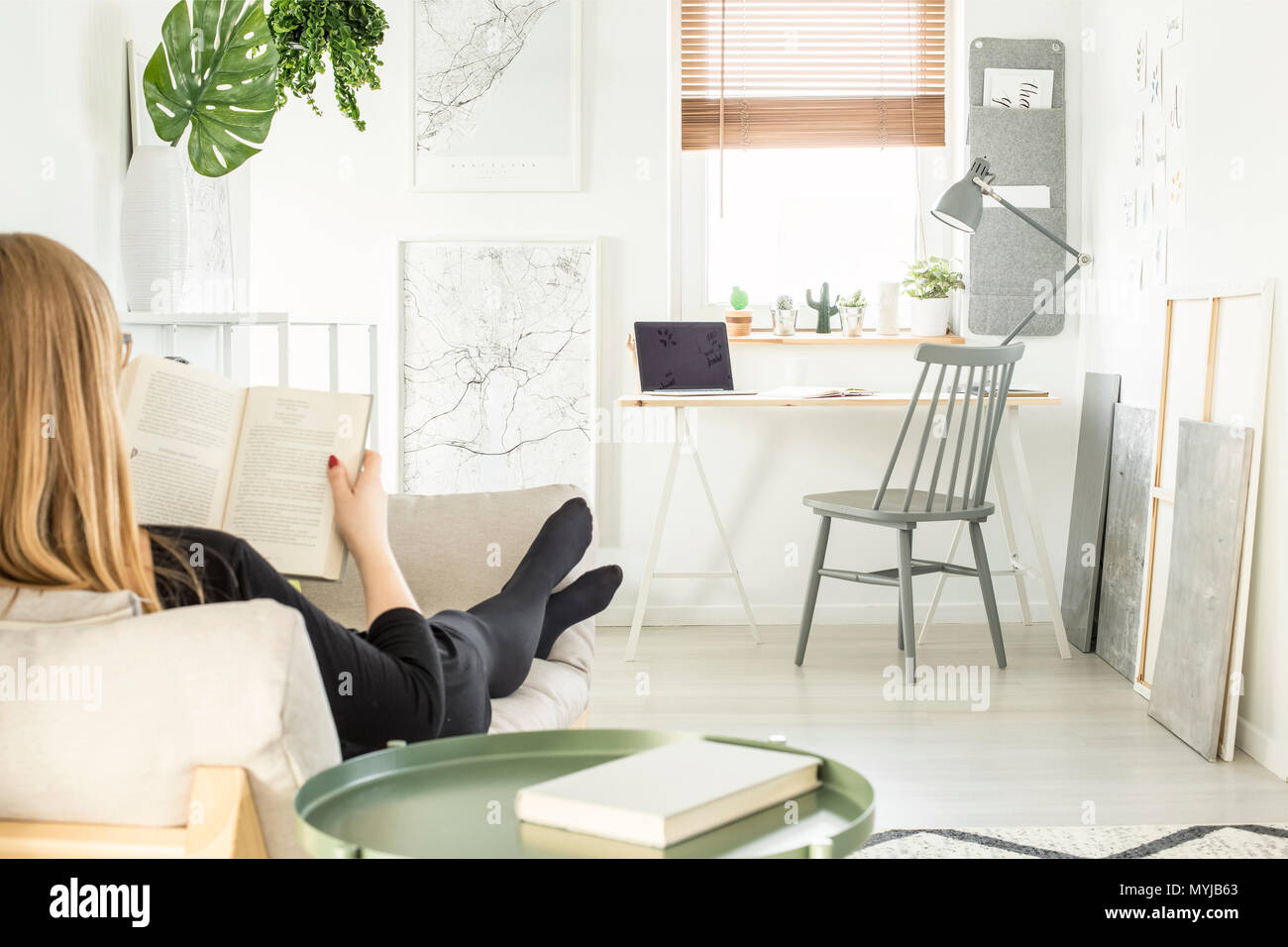 Home Office With Sofa