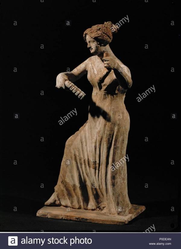 Terracotta Animal Figurine Stock &