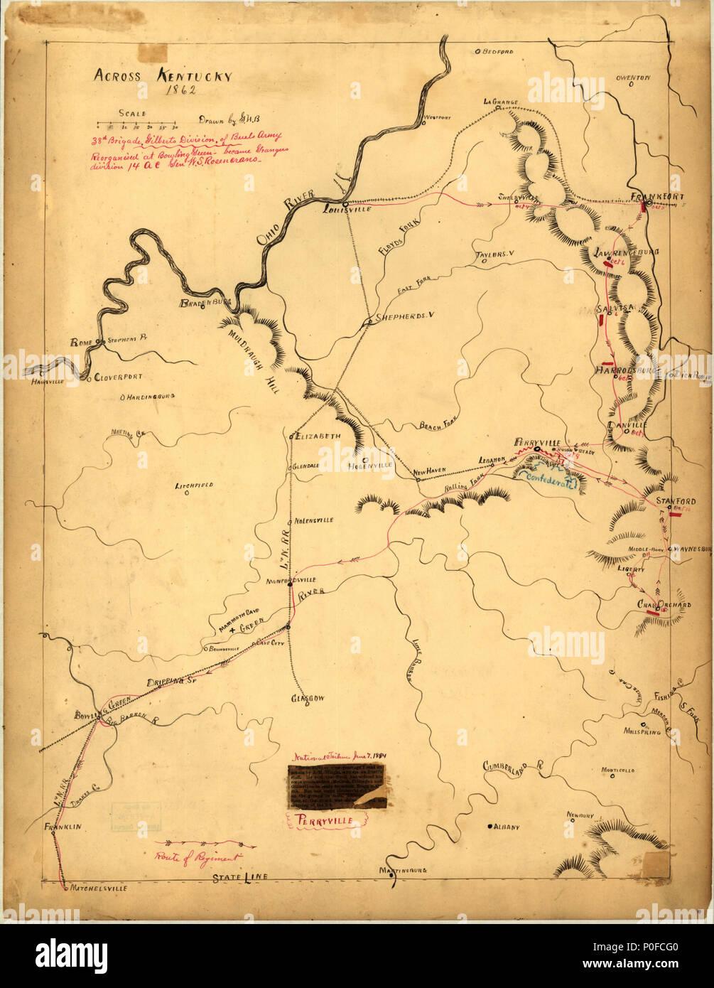Fort Campbell Kentucky Map