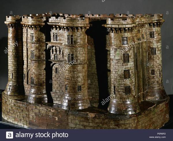 Bastille Fortress Paris Stock &