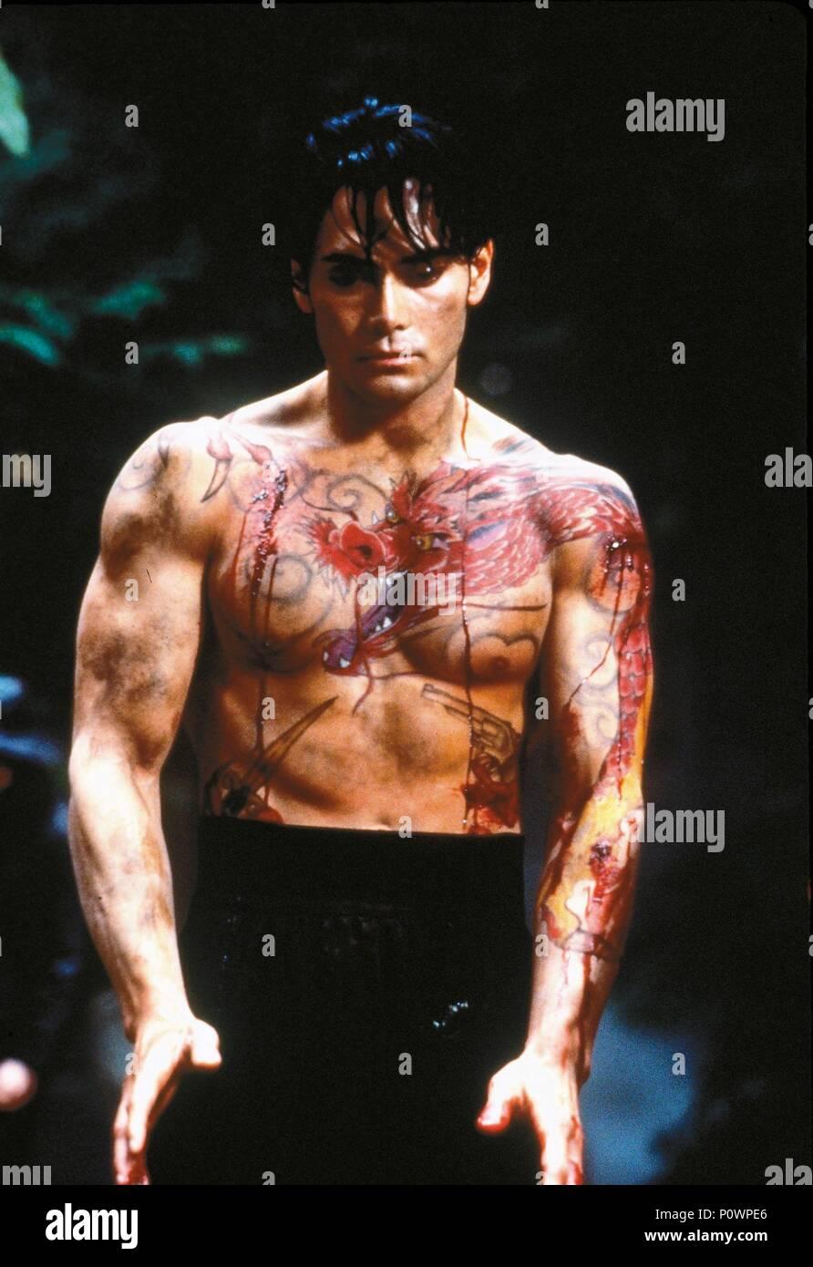 Crying Freeman (film) : crying, freeman, (film), Original, Title:, CRYING, FREEMAN., English, Director:, CHRISTOPHE, GANS., Year:, 1995., Stars:, DACASCOS., Credit:, AUGUST, ENTERTEINMENT/DAVIS-FILMS/YUZNA, FILMS/OZLA, PROD., Album, Stock, Photo, Alamy