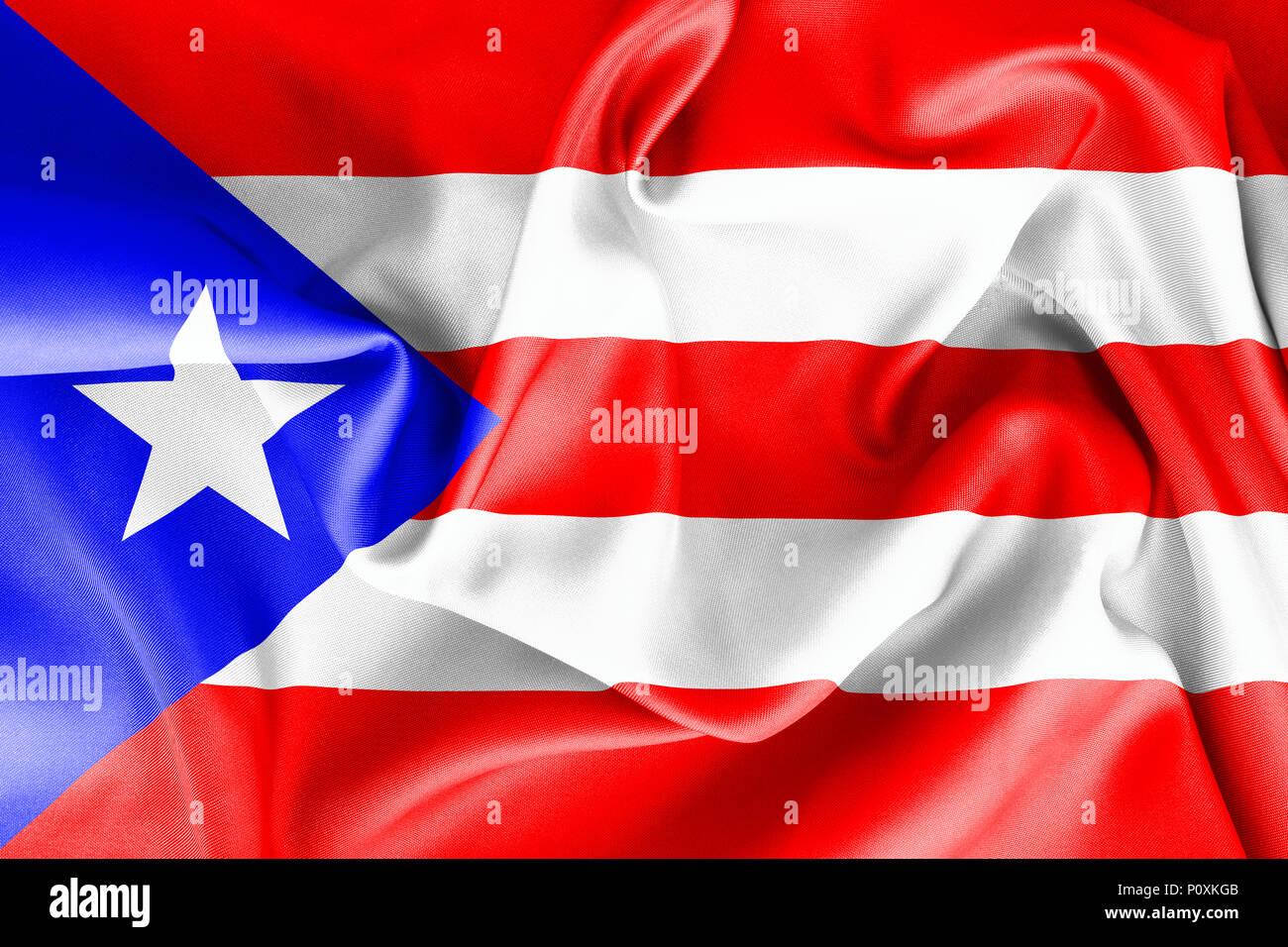 puerto rican flag texture