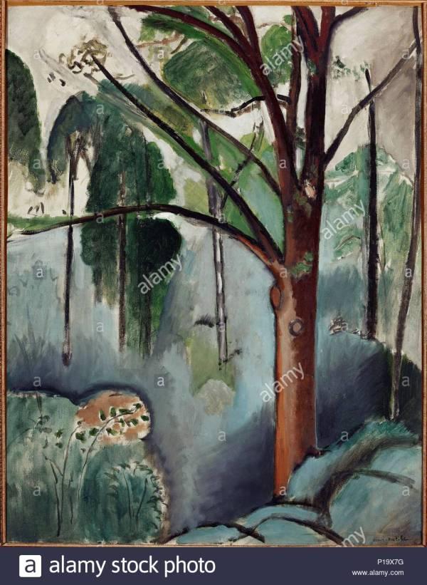 Henri Matisse Landscape Stock & - Alamy