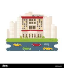 Office Building Vector Vectors Stock &