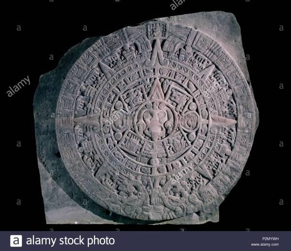 Pre Aztec Sculpture Stock & - Alamy