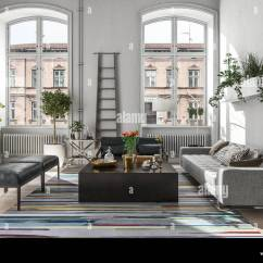 Images Of Modern Rustic Living Rooms 1950 Maple Room Furniture Interior In A Scandinavian Style 3d Rendering