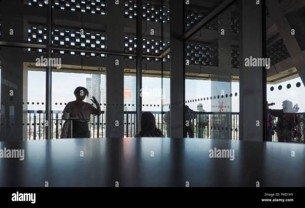 Tate Modern Interior Stock &
