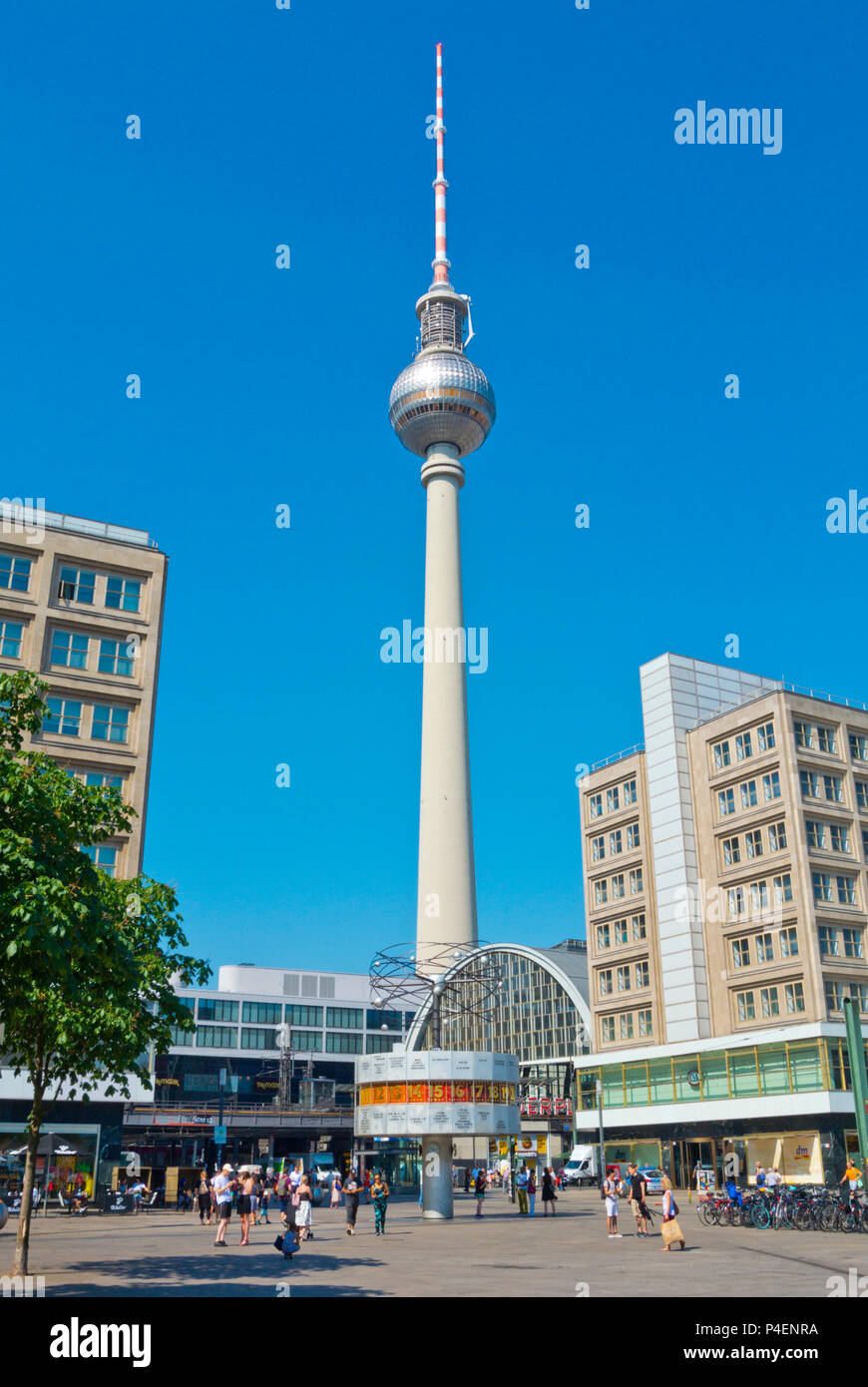 fernsehturm tv tower and