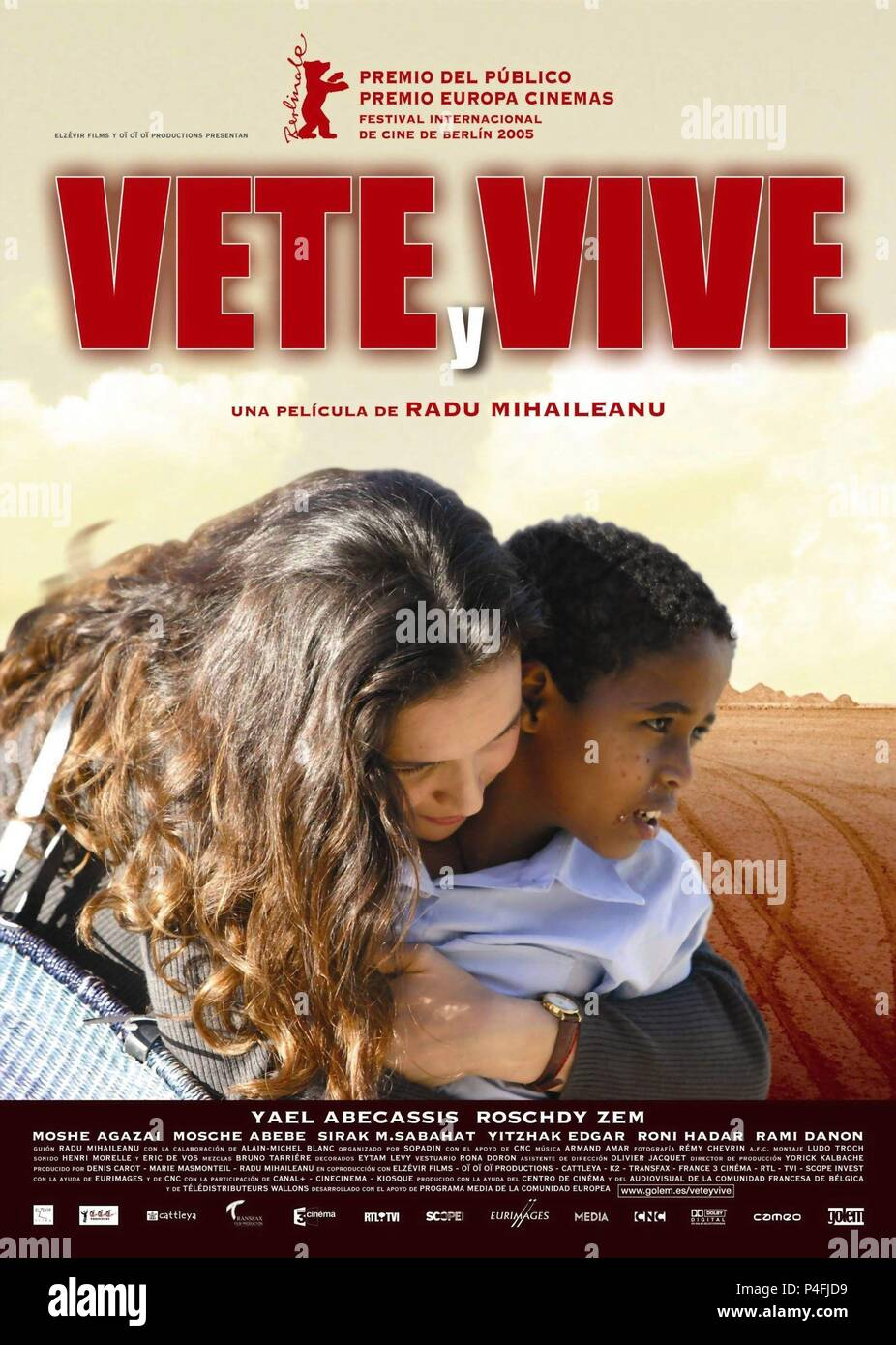 Va Vis Et Deviens Film : deviens, Original, Title:, DEVIENS., English, BECOME., Director:, MIHAILEANU., Year:, 2005., Credit:, ELZEVIR, FILMS, Album, Stock, Photo, Alamy