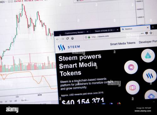 small resolution of montreal canada june 20 2018 steem crypto currency home page cryptocurrency