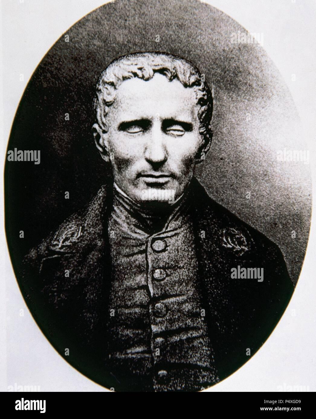 Louis Braille Profesor Frances Creador De Un