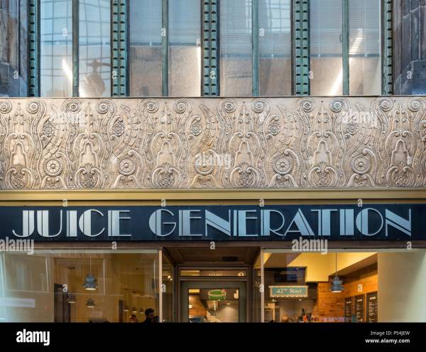New York City Building Art Deco Pattern