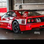 A Red Ferrari F40 Racing Car Stock Photo Alamy