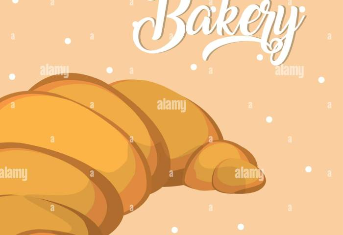 Croissant Delicious And Fresh Bakery Vector Illustration Graphic