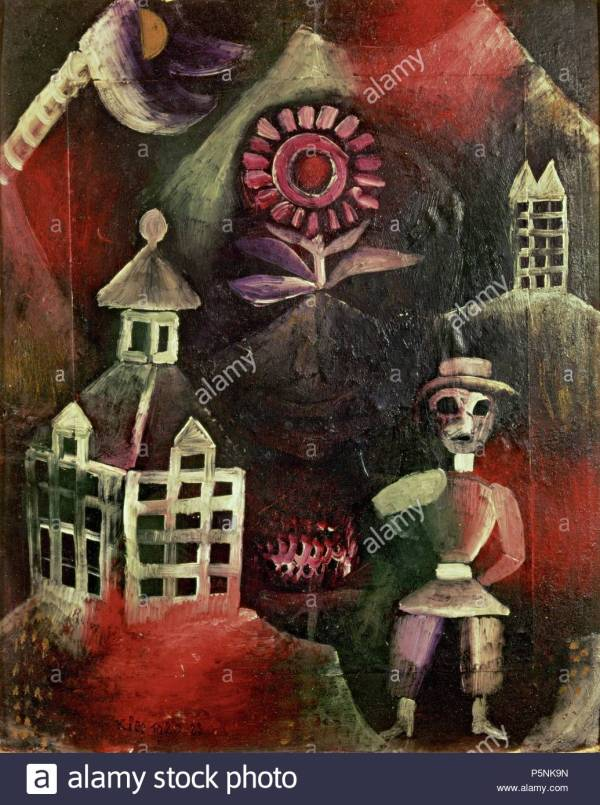 Art Painting Paul Klee Stock & - Alamy