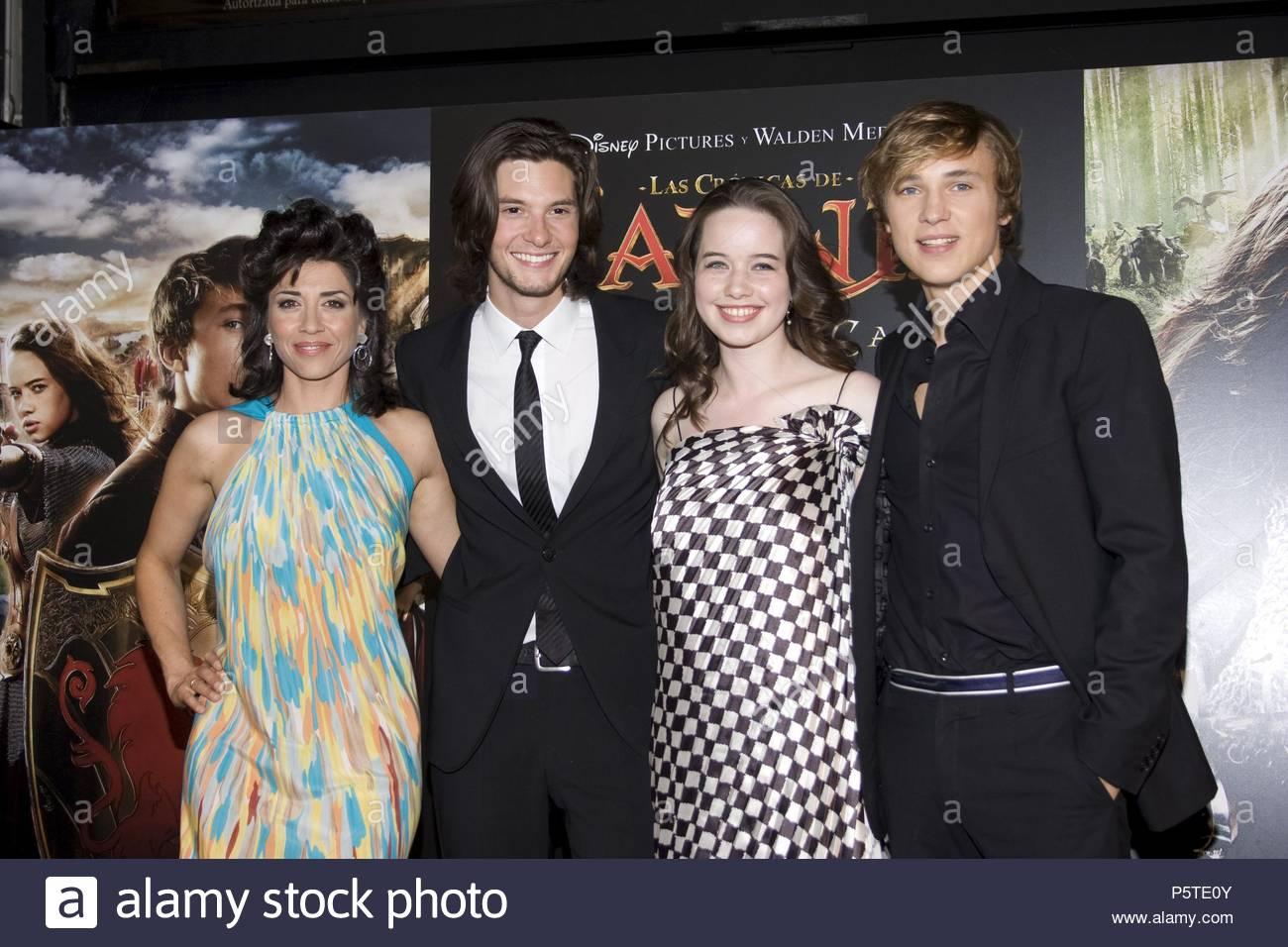 Alicia Borrachero, Ben Barnes, Anna Popplewell And William