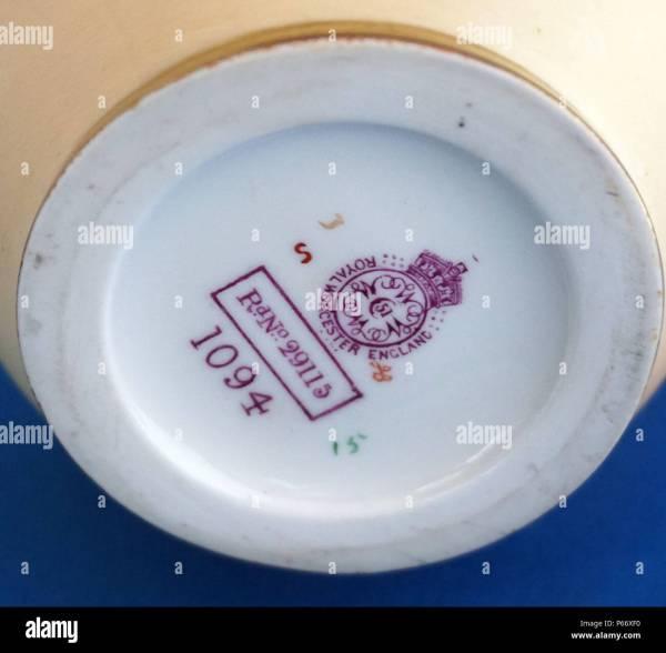 Porcelain Marks Stock &