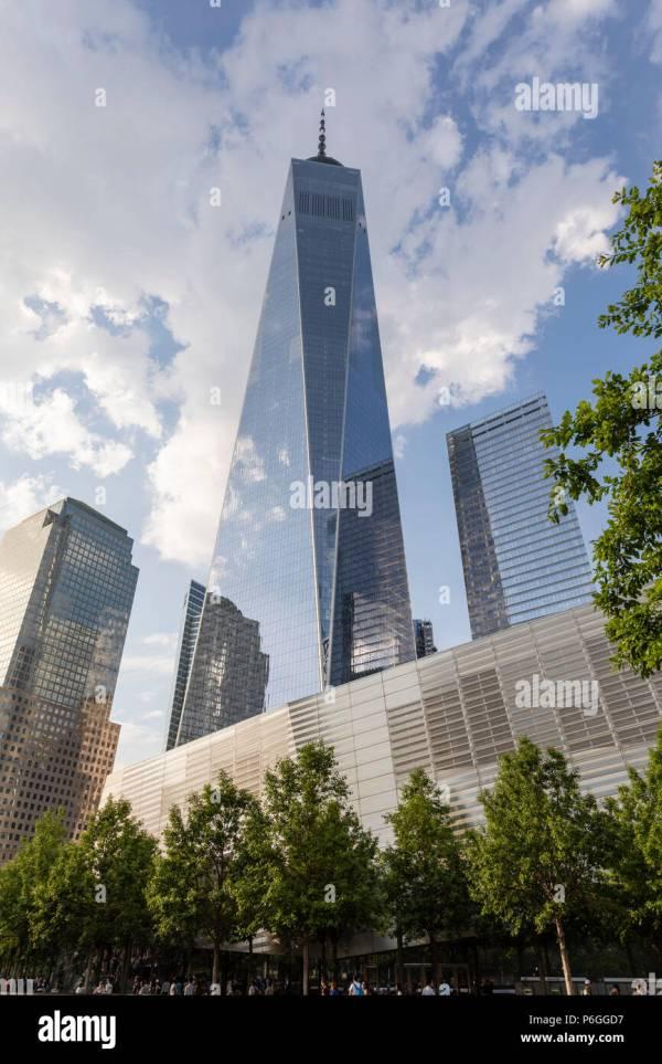 World Trade Center Memorial Stock & - Alamy