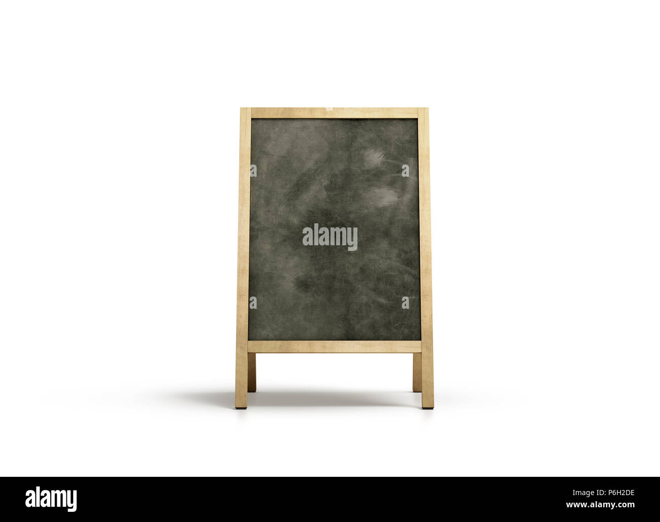 blank outdoor chalkboard stand